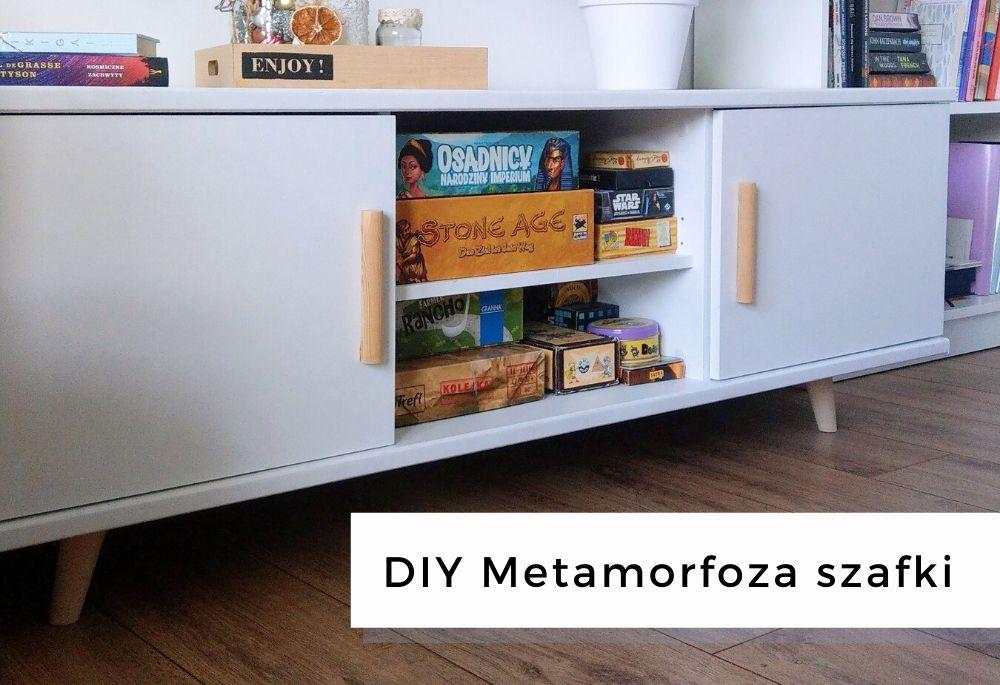 DIY Metamorfoza szafki – malowanie mebli