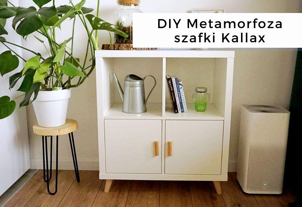 DIY Metamorfoza szafki Kallax z Ikei