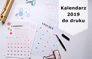 Kalendarz 2019 do druku